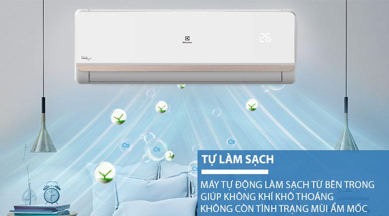 Tự làm sạch - Máy lạnh Electrolux Inverter 1 HP ESV09CRR-C2