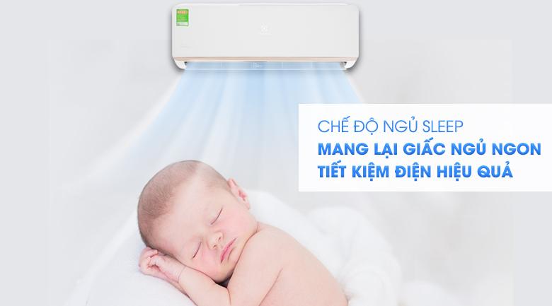 Chế độ Sleep - Máy lạnh Electrolux Inverter 1 HP ESV09CRR-C2