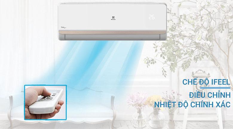 Chế độ iFeel - Máy lạnh Electrolux Inverter 1.5 HP ESV12CRR-C2