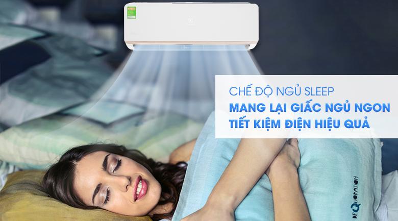 Chế độ Sleep - Máy lạnh Electrolux Inverter 1.5 HP ESV12CRR-C2