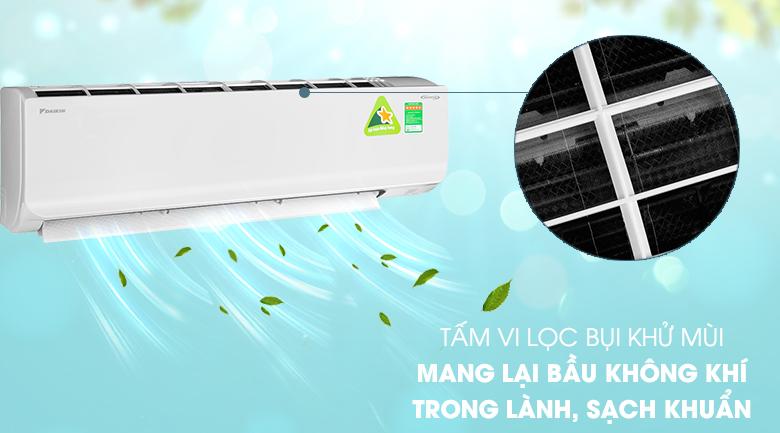 Tấm vi lọc bụi - Máy lạnh 2 chiều Daikin Inverter 2.5 HP FTHF60RVMV