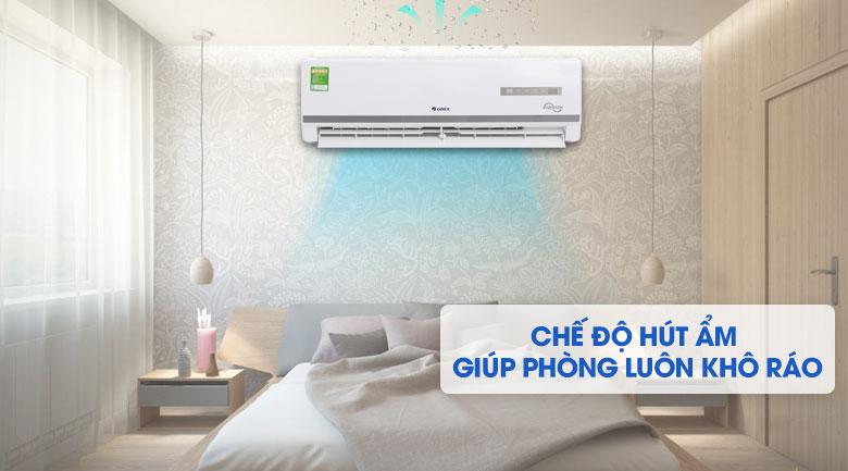 Chế độ hút ẩm - Máy lạnh Gree Inverter 1 HP GWC09WA-K3D9B7I