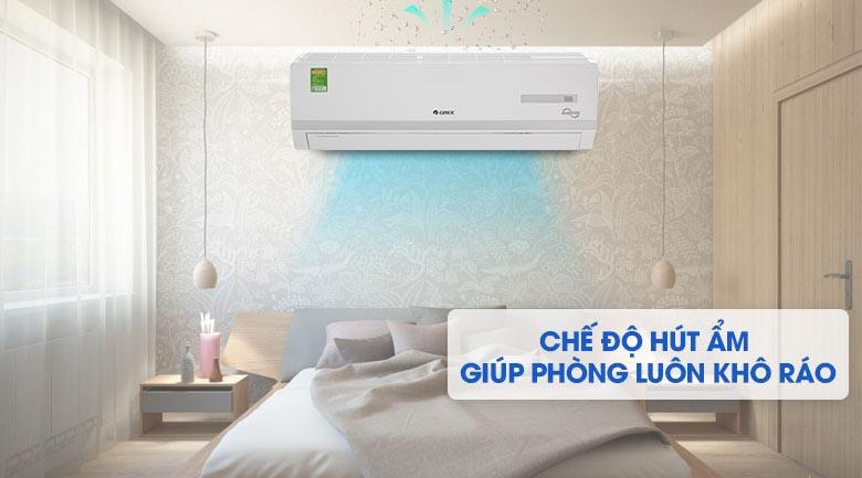 Chức năng hút ẩm - Máy lạnh Gree Inverter 2 HP GWC18WC-K3D9B7N
