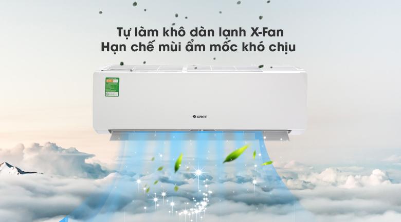 Máy lạnh Gree 1 HP GWC09IB-K3N9B2I - Tự làm khô dàn lạnh