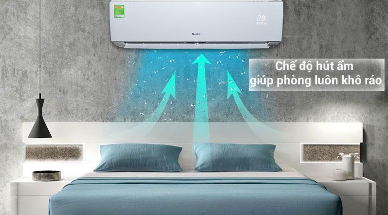 Chế độ hút ẩm - Máy lạnh Gree 1 HP GWC09IB-K3N9B2I
