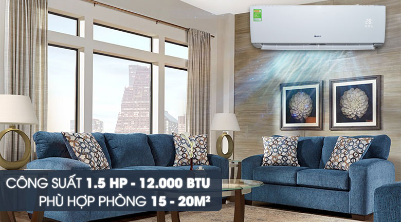 Máy lạnh Gree 1.5 HP GWC12IC-K3N9B2J