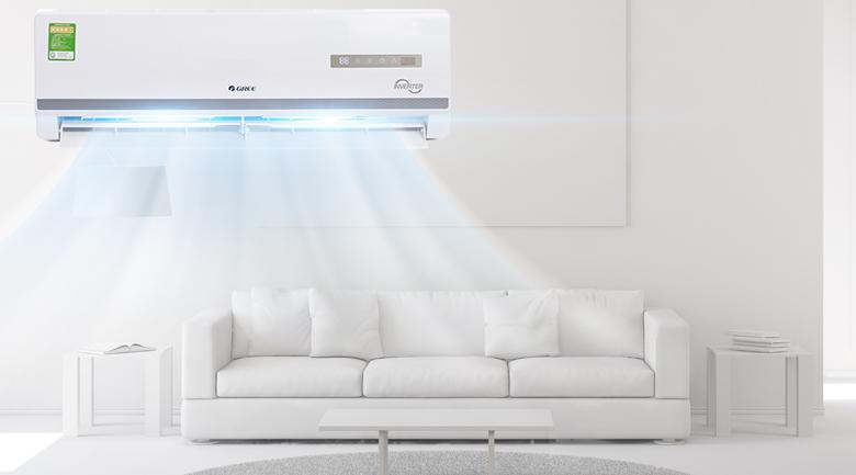 Thiết kế - Máy điều hòa 2 chiều Gree Inverter 1 HP GWH09WA-K3D9B7L Mẫu 2019