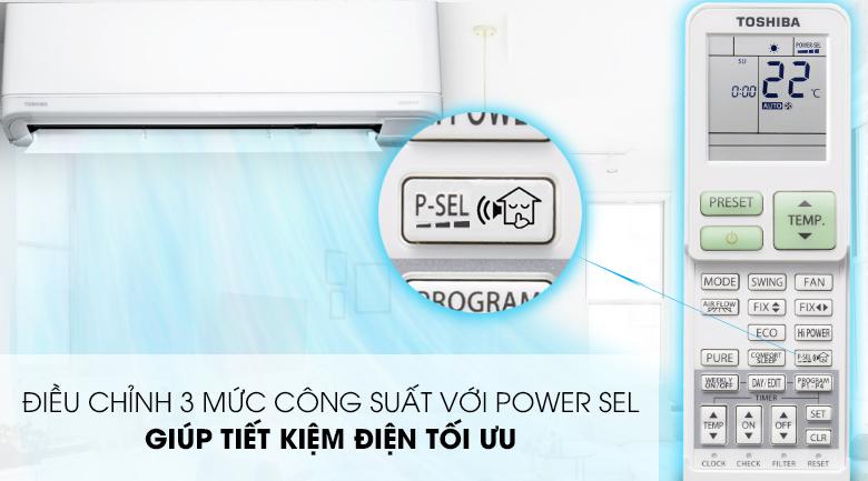 Power Sel - Máy lạnh Toshiba Inverter 1.5 HP RAS-H13J2KCVRG-V Mẫu 2019