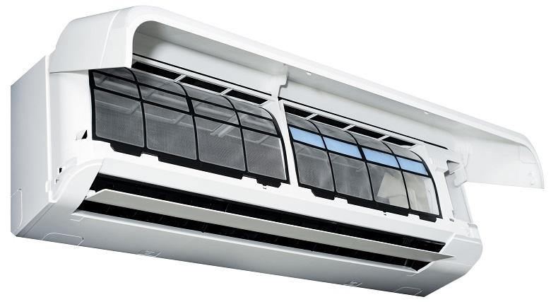 Mặt nạ dễ đóng, mở - Máy lạnh Toshiba Inverter 1.5 HP RAS-H13J2KCVRG-V