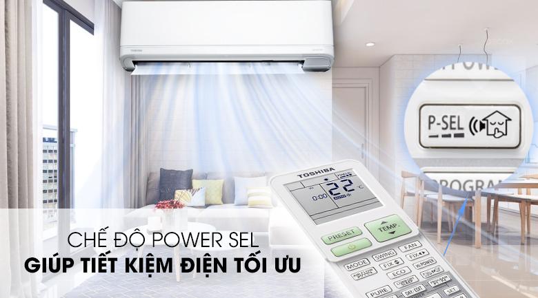 Power Sel - Máy lạnh Toshiba Inverter 2 HP RAS-H18J2KCVRG-V Mẫu 2019