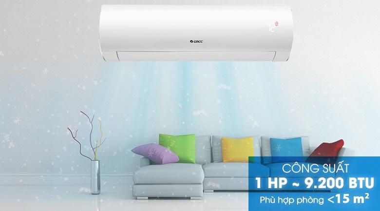 Công suất 1 HP - Máy lạnh Gree Inverter 1 HP GWC09FB-K6D9A1W