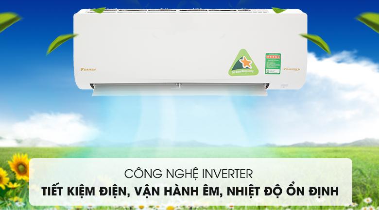 Công nghệ Inverter hiện đại - Máy lạnh Daikin Inverter 2 HP FTKQ50SAVMV