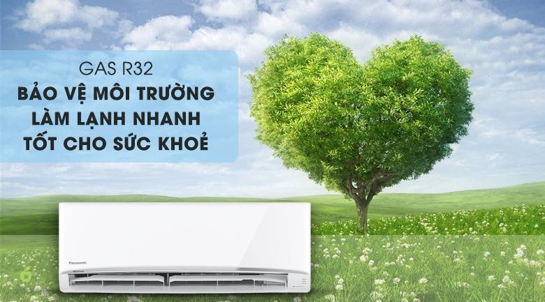 Gas R32 - làm lạnh nhanh, bảo vệ môi trường - Máy lạnh Daikin Inverter 2 HP FTKQ50SAVMV