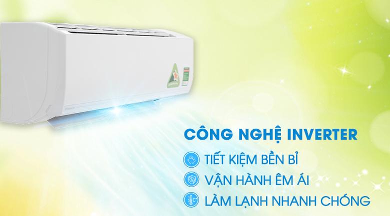 Công nghệ Inverter - Máy lạnh Daikin Inverter 1.0 HP ATKC25UAVMV