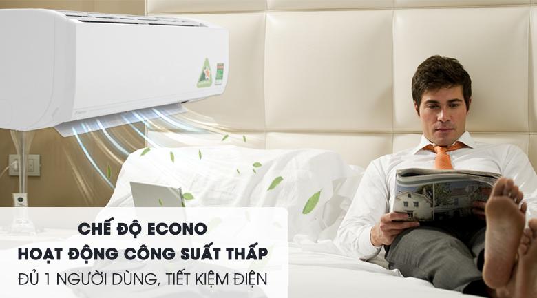 Chế độ Econo - Máy lạnh Daikin Inverter 1.5 HP ATKC35UAVMV