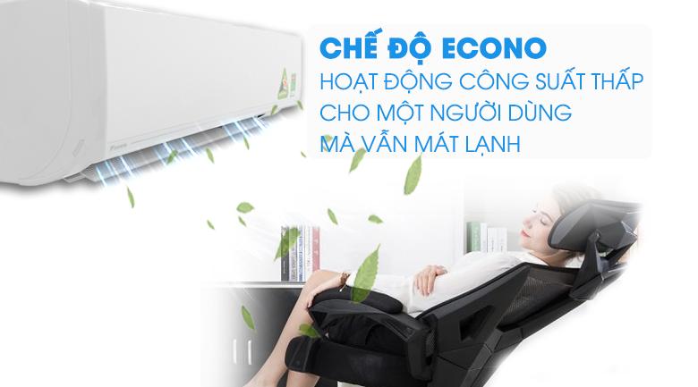 Làm lạnh một người dùng - Máy lạnh Daikin Inverter 2 HP FTKC50UVMV
