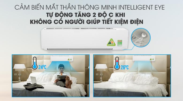 Mắt thần thông minh - Máy lạnh Daikin Inverter 2 HP FTKC50UVMV