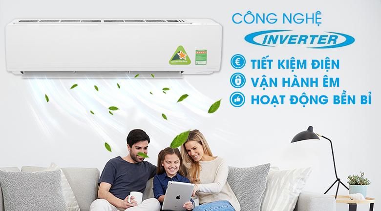Công nghệ Inverter - Máy lạnh Daikin Inverter 2.5 HP FTKC60UVMV
