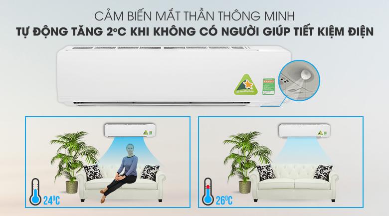 Mắt thần thông minh - Máy lạnh Daikin Inverter 2.5 HP FTKC60UVMV