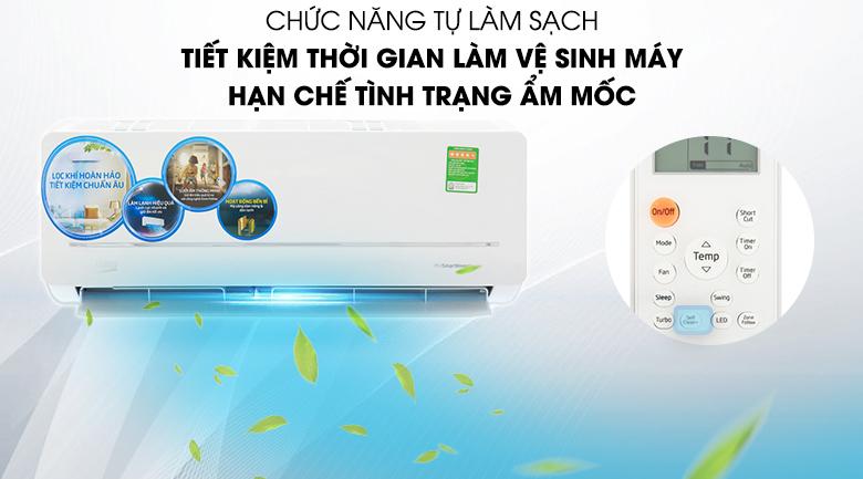 Tự làm sạch - Điều hòa 2 chiều Beko Inverter 9000 BTU RSVH9VS