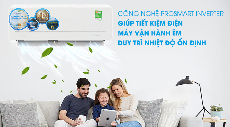 Công nghệ ProSmart Inverter - Máy lạnh 2 chiều Beko Inverter 1.0 HP RSVH09VS
