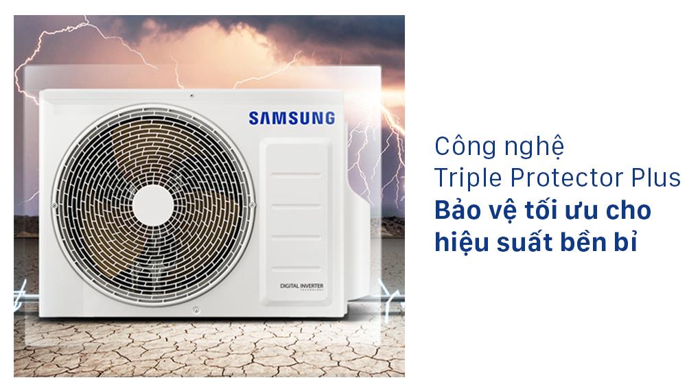 Máy lạnh Samsung Inverter 1 HP AR10TYHYCWKNSV - Công nghệ Triple Protector Plus