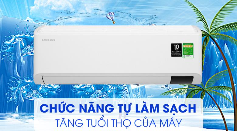 Máy lạnh Samsung Inverter 1 HP AR10TYHYCWKNSV-Độ bền cao, vận hành hiệu quả nhờ chức năng tự làm sạch