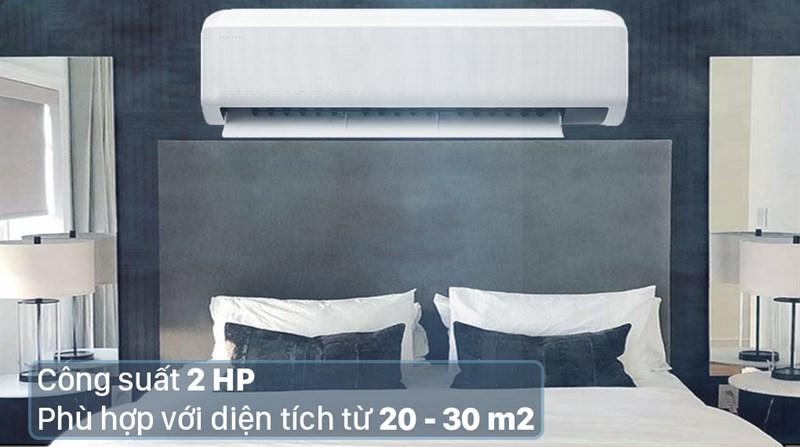Máy lạnh Samsung Wind-Free Inverter 2 HP AR18TYGCDWKNSV - Công suất 2 HP