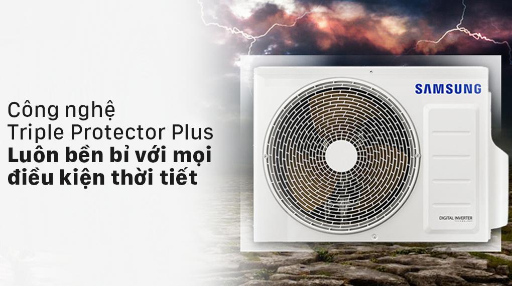 Máy lạnh Samsung Wind-Free Inverter 2 HP AR18TYGCDWKNSV - Bảo vệ thiết bị