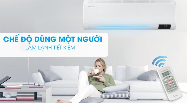 Máy lạnh Samsung Wind-Free Inverter 2.5 HP AR24TYGCDWKNSV-Làm lạnh tiết kiệm với chế độ dùng một người