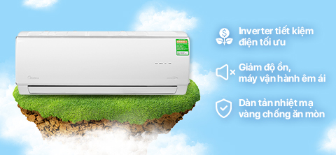 Midea Inverter 1 HP