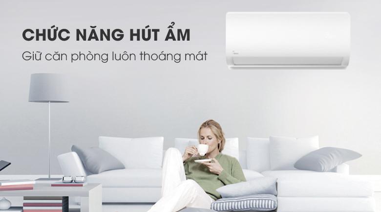 Máy lạnh Midea Inverter 1 HP MSAG-10CRDN8 - Hút ẩm