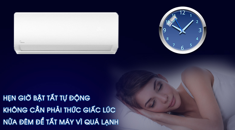 Máy lạnh Midea Inverter 1 HP MSAG-10CRDN8 - Hẹn giờ