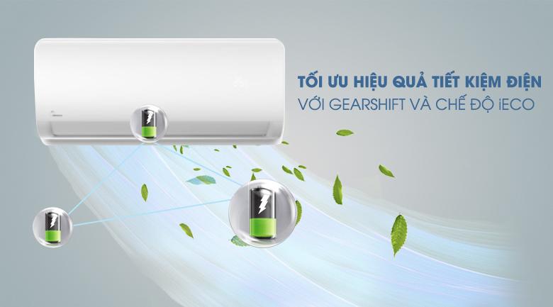 Gearshift và iEco