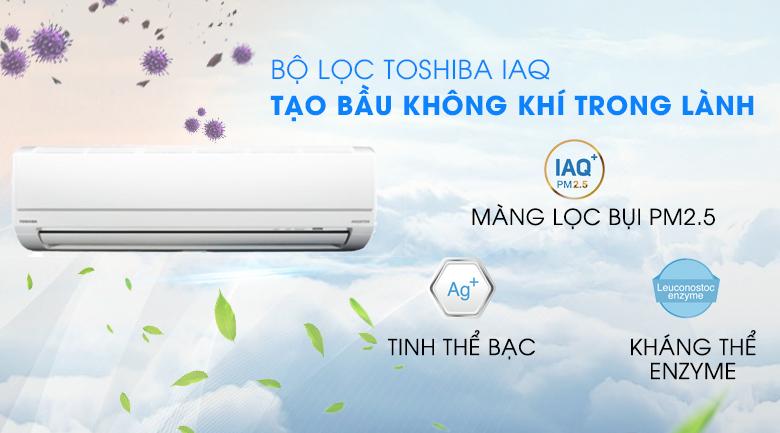 Máy lạnh Toshiba RAS H10D2KCVG-V