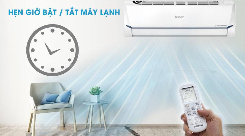 hẹn giờ bật tắt máy lạnh-Máy lạnh Sharp AH-X9XEW