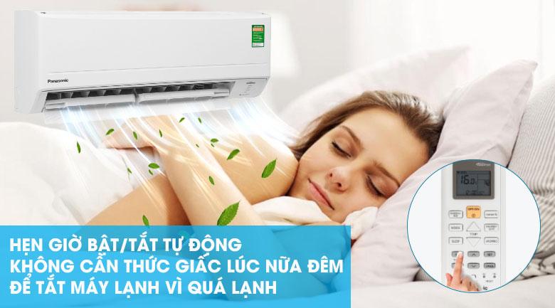 Hẹn giờ bật tắt máy lạnh