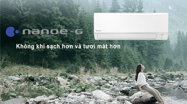 Điều hòa Panasonic Inverter 11900 BTU CU/CS-PU12WKH-8M