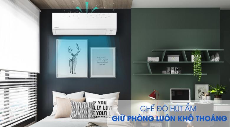 Hút ẩm-Máy lạnh Panasonic Inverter 1 HP CU/CS-WPU9WKH-8M