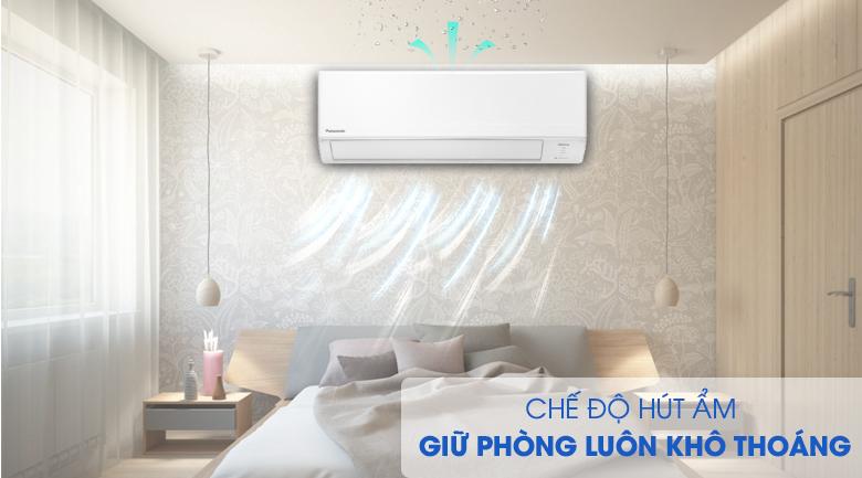 Hút ẩm-Máy lạnh Panasonic Inverter 1.5 HP CU/CS-WPU12WKH-8M