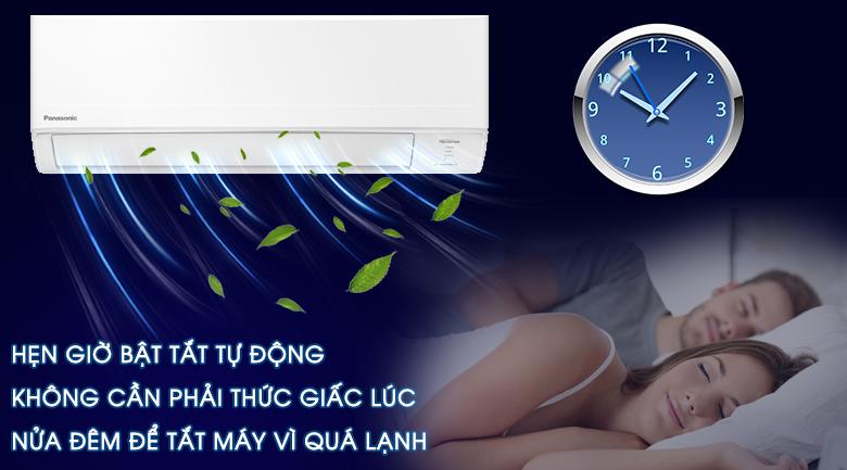 Hẹn giờ-Máy lạnh Panasonic Inverter 1.5 HP CU/CS-WPU12WKH-8M