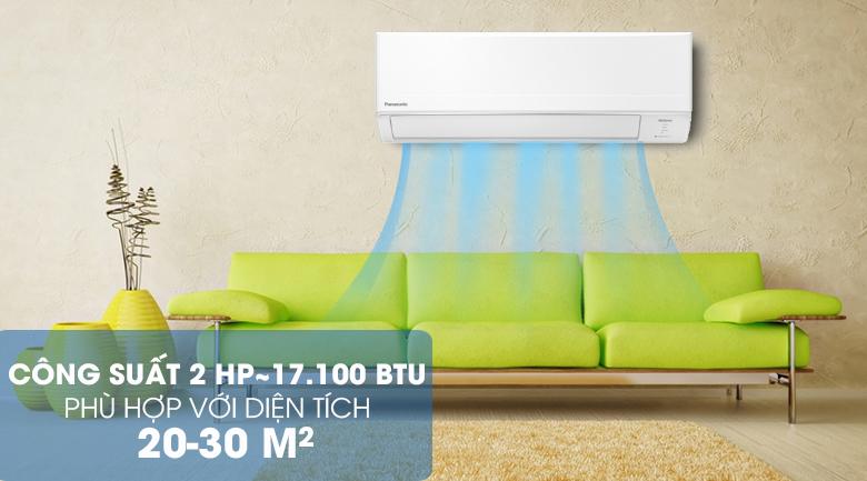 Công suất - Máy lạnh Panasonic Inverter 2 HP CU/CS-WPU18WKH-8M