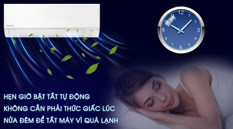 Hẹn giờ-Máy lạnh Panasonic Inverter 2 HP CU/CS-WPU18WKH-8M