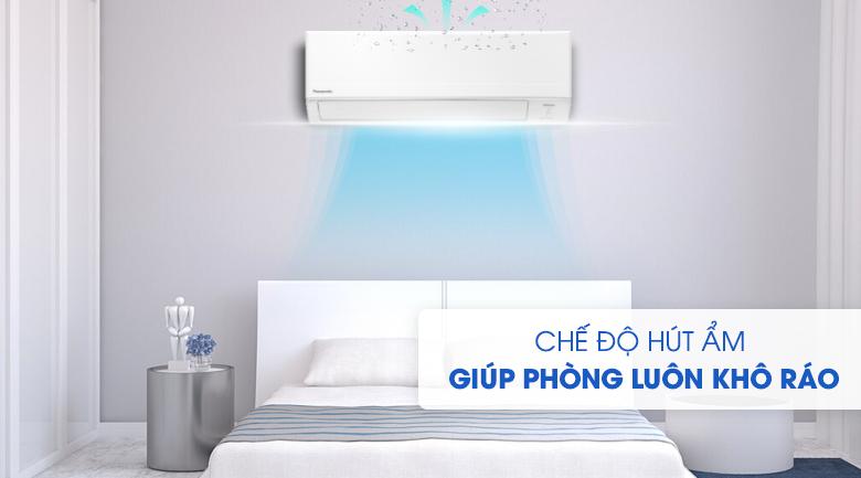 Hút ẩm-Máy lạnh Panasonic Inverter 2 HP CU/CS-WPU18WKH-8M