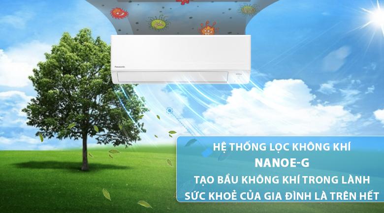 Nanoe-G-Máy lạnh Panasonic Inverter 2 HP CU/CS-WPU18WKH-8M
