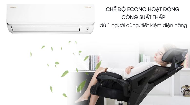 Econo - Máy lạnh Daikin Inverter 1.5 HP ATKA35UAVMV