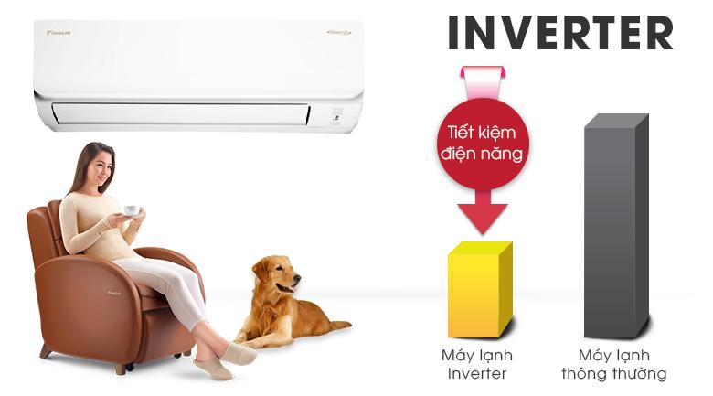 Inverter - Máy lạnh Daikin Inverter 1.5 HP ATKA35UAVMV