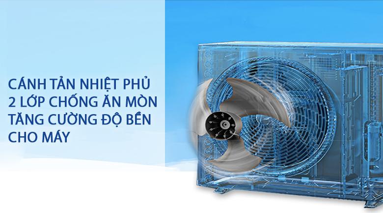 Cánh tản nhiệt phủ 2 lớp chống ăn mòn-Máy lạnh Daikin 1 HP ATF25UV1V