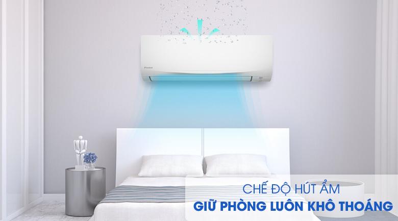 hút ẩm-Máy lạnh Daikin 1 HP ATF25UV1V Mới 2020