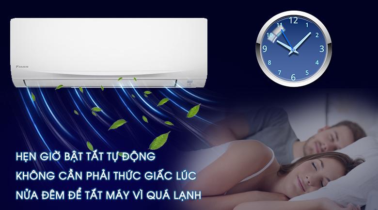 Hẹn giờ -Máy lạnh Daikin 1.5 HP ATF35UV1V